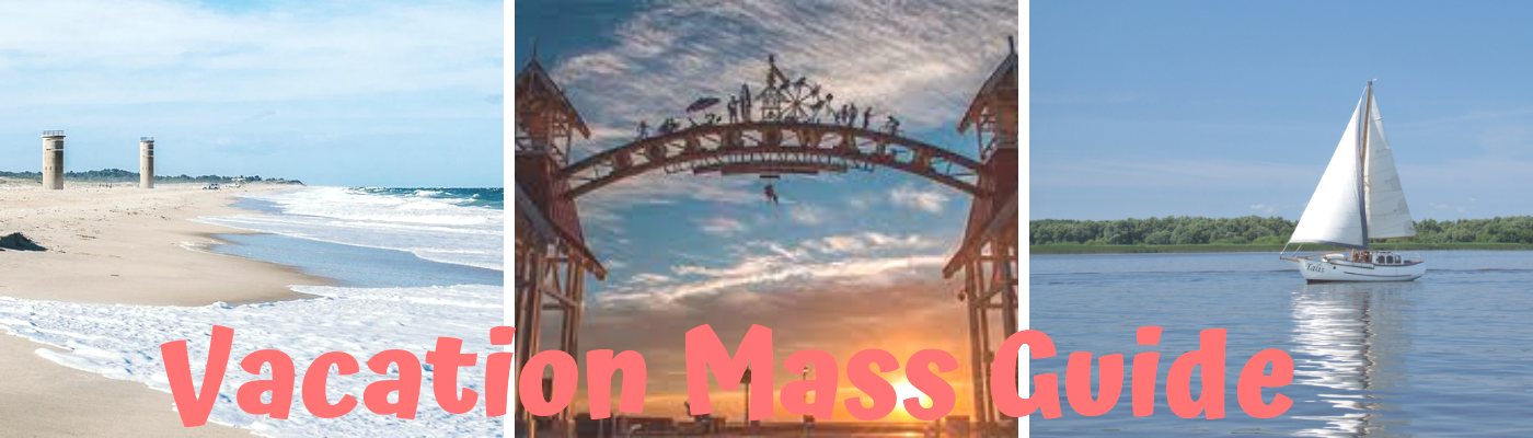 Before you head out, check out the Vacation Mass Guide.