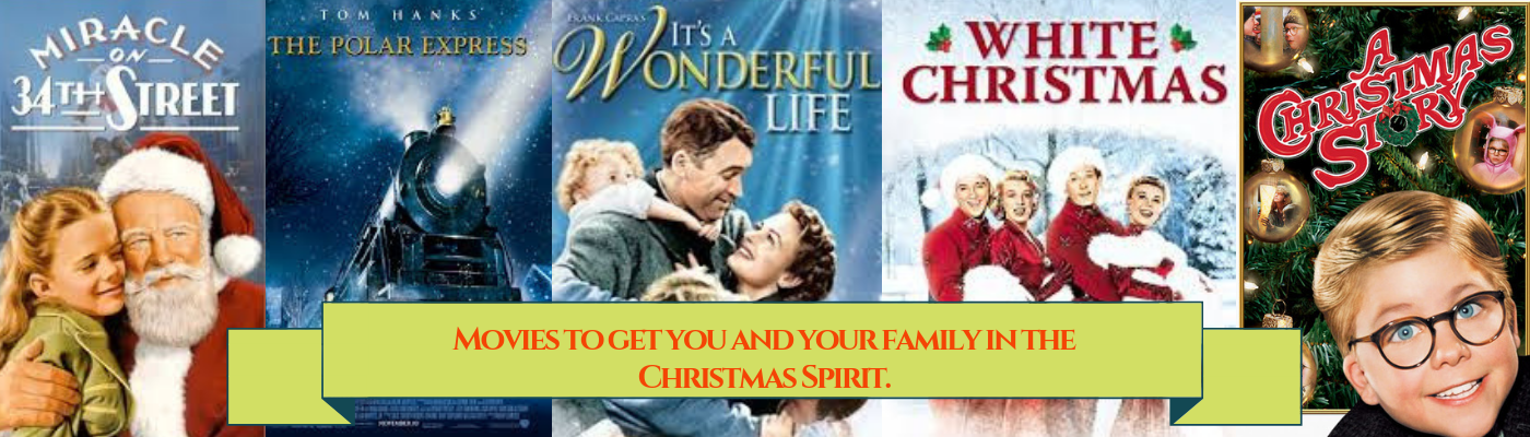 Enjoy these Christmas films with your family.
