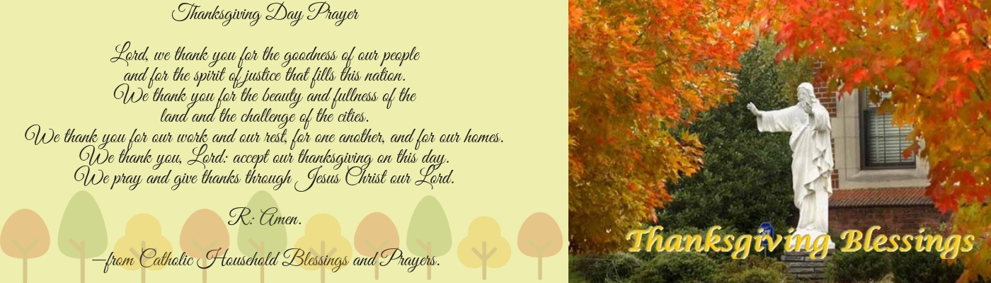 A Prayer for Thanksgiving