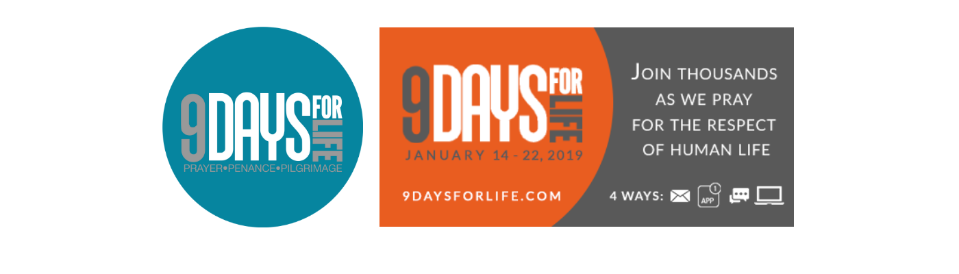 9 Days for Life begins January 14th