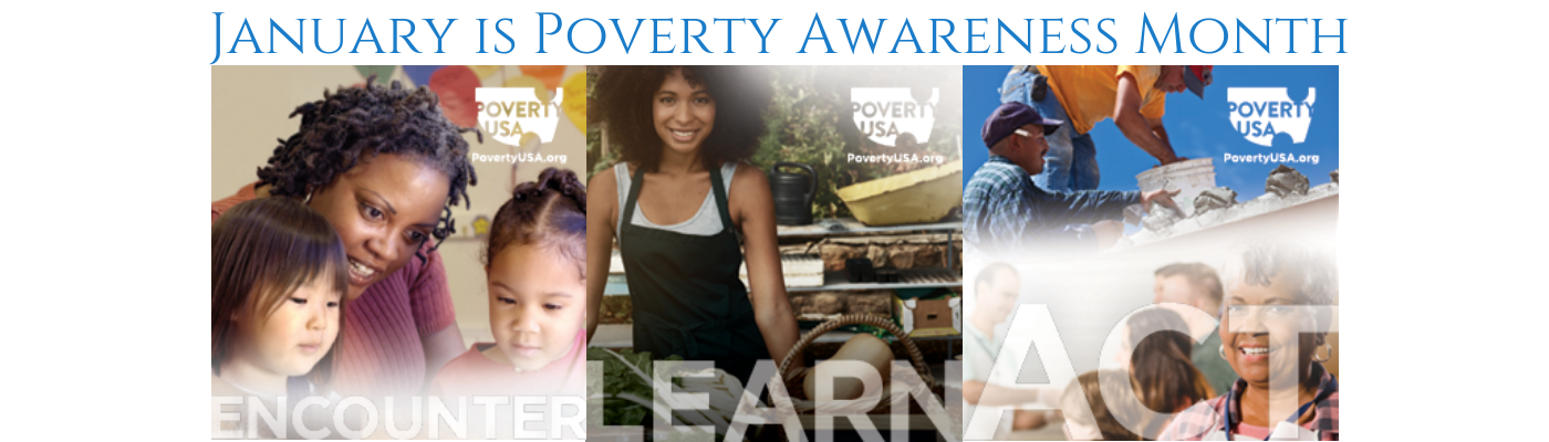 January is Poverty Awareness Month
