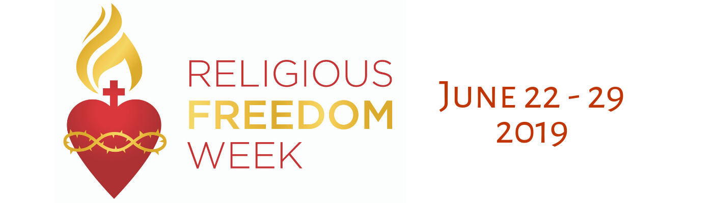 Religious Freedom Week starts June 22nd