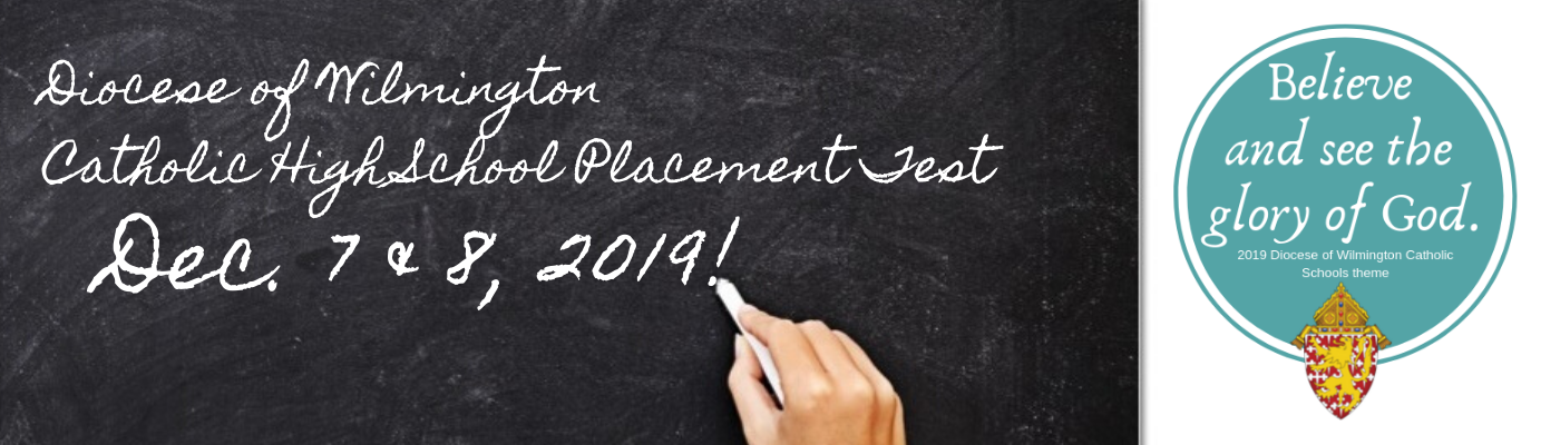 Attention 8th Graders and their families: It's time for the High School Placement Test