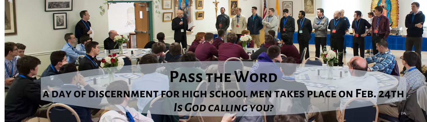 Is God calling you? Pass the Word!