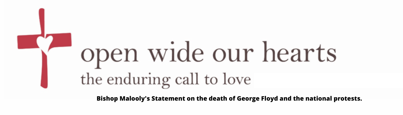 * Statement from Bishop Malooly on the killing of George Floyd and aftermath.