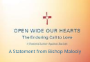 Statement from Bishop Malooly on the killing of George Floyd and aftermath