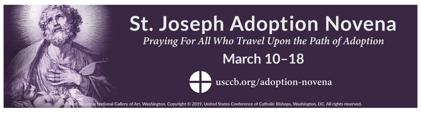St. Joseph Adoption Novena begins March 10