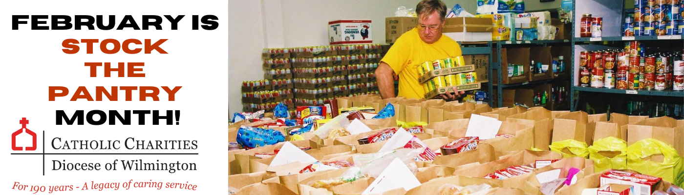 Stock the Pantry for the needy