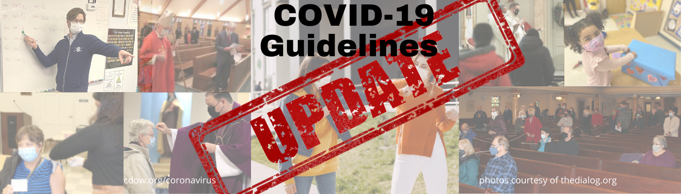 COVID-19 Updates: What Catholics in the Diocese Need to Know.