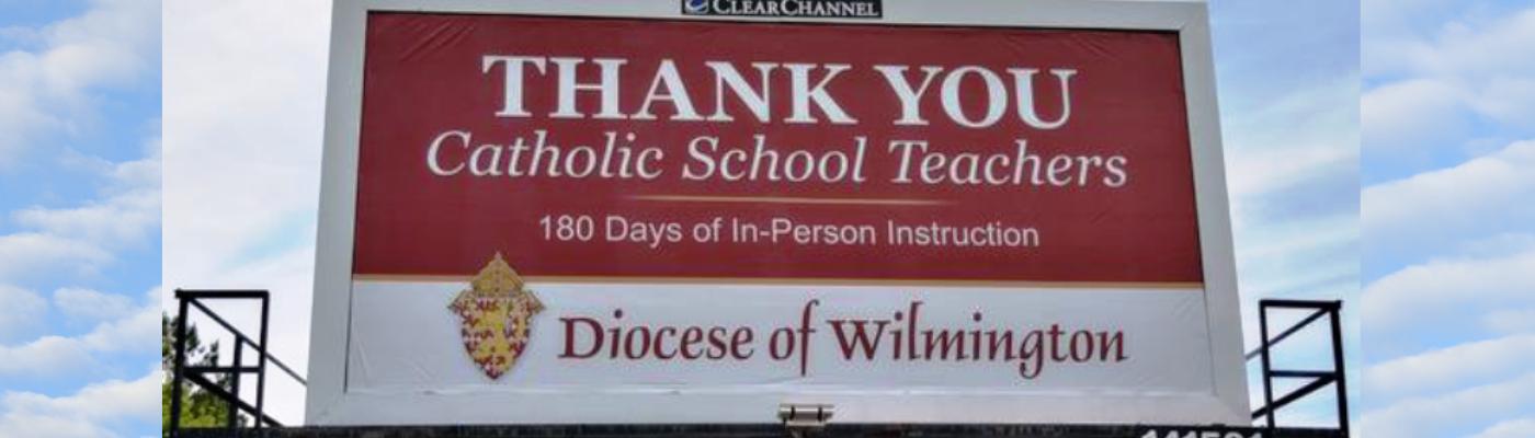 Thank you Catholic School teachers!