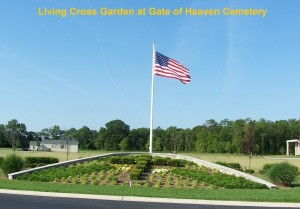 Gate of heaven LIving Cross with text