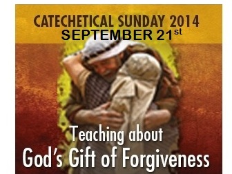 "This year, the Church will celebrate Catechetical Sunday on September 21, 2014, and will focus on the theme ""Teaching About God's Gift of Forgiveness."" Those whom the community has designated to serve as catechists will be called forth to be commissioned for their ministry."