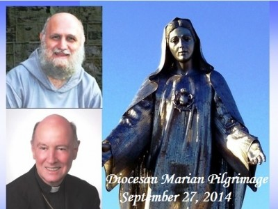 The Diocese of Wilmington will hold its annual Marian Pilgrimage at the Shrine of Our Lady Queen of Peace at Holy Spirit Church, 12 Winder Road, New Castle, Delaware. The event, held every year to honor the Blessed Virgin Mary, will take place on Saturday, September 27, 2014.  All parishioners from parishes in the state of Delaware and Maryland's Eastern Shore are invited to attend. The pilgrimage activities will begin at 1:00 pm in the church. There will be Exposition of […]