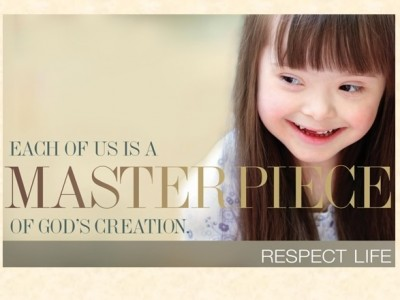 Each of Us is a Masterpiece of God's Creation! The Respect Life Program begins anew each year on Respect Life Sunday, the first Sunday in October. The program is highlighted in liturgies and marked by special events. The USCCB Secretariat of Pro-Life Activities publishes a program packet each year to call attention to numerous human life issues. These materials are especially helpful for priests, parish groups, schools, and other organizations.