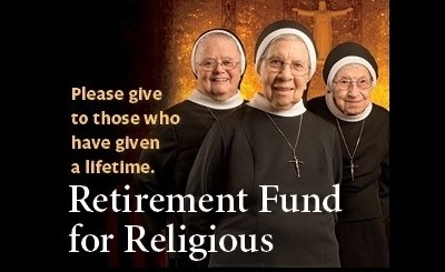 The Retirement Fund for Religious provides support for thousands of elderly Catholic sisters, brothers, and religious order priests. A special collection to benefit the Fund will be taken at all Catholic Masses in Delaware and Maryland's Eastern Shore on December 6 & 7, 2014.  Click here for details.
