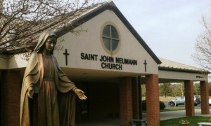 St. John Neumann exterior3