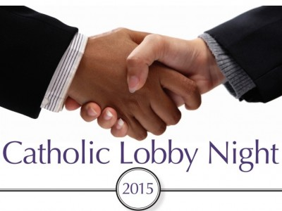 Lobby Night is an advocacy event that gives Maryland Catholic voters the opportunity to speak in person with their elected officials about issues. Tell legislators that we all have a duty to serve the poor and vulnerable, build up the common good and respect human life and dignity. Visit the Maryland Catholic Conference Lobby Night website for more information.