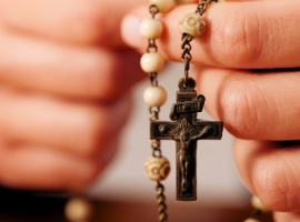 During the month of May, Catholics honor Our Blessed Mother in a special way. Check out this special feature to learn about the rosary, how to pray it, and how we are drawn closer to Jesus through Mary in the rosary. The Rosary The rosary is probably the best known private devotion in the Catholic Church. In 1569, Pope Pius V officially approved this devotion, but the rosary's history can be traced to much earlier times, with its beginnings probably […]