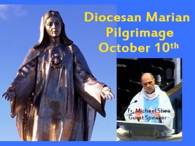 You are invited to attend the annual Diocese of Wilmington Marian Pilgrimage on Saturday, October 10, 2015 beginning at 1:00 p.m. at Holy Spirit Church and the Shrine of Our Lady, Queen of Peace in New Castle, Delaware. Come for Benediction and Exposition of the Blessed Sacrament and hear an address by Fr. Michael Shea, CM, Associate Director of the Central Association of the Miraculous Medal in Philadelphia; visit the Shrine and gift shop; attend the 4 p.m. Mass with […]