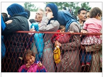 """""""I was a stranger and you welcomed me."""" (MT 25:35) The need is great: The political and humanitarian crisis in Syria is a serious concern for the Catholic Church and the bishops of the United States."""