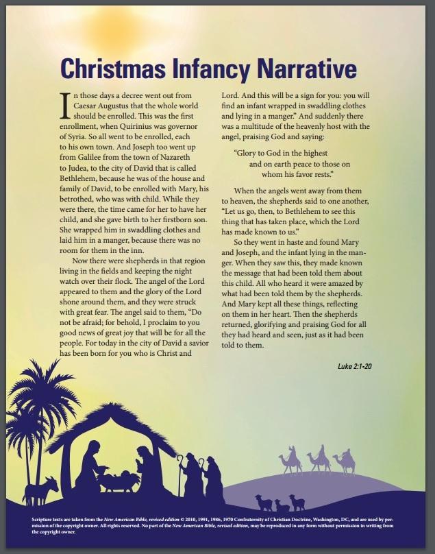 Christmas Infancy Narrative Eng