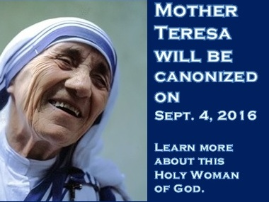 Mother Teresa was a force of nature and wholly unique. She was always her own person, startlingly independent, obedient, yet challenging some preconceived notions and expectations. Her own life story includes many illustrations of her willingness to listen to and follow her own conscience, even when it seemed to contradict what was expected. Click here to learn about Mother Teresa from AmericanCatholic.org