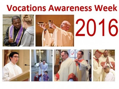 National Vocation Awareness Week (NVAW) is an annual week-long celebration of the Catholic Church in the United States dedicated to promote vocations to the priesthood, diaconate and consecrated life through prayer and education, and to renew our prayers and support for those who are considering one of these particular vocations. Click here for the Diocese of Wilmington's Vocations Office Website. Priesthood Sunday is October 30th. Click here to give your parish priest the gift of a spiritual bouquet.