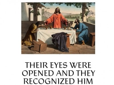 """Their Eyes Were Opened and They Recognized Him"" (Luke 24:31), the theme for this year's appeal, comes from the Gospel story of the resurrected Christ joining two of his followers on the road to Emmaus. As they talked, the followers did not recognize Jesus until, at dinner, Jesus broke bread, gave thanks and started to give the bread to them, reenacting the Last Supper. People today sometimes struggle to recognize Christ among us, much as those early believers did not […]"