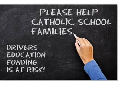 The Joint Finance Committee of the Delaware General Assembly voted to place a hold on state funding for driver's education instruction for Catholic and independent school students. Should they elect to cut this allocation in the FY 2018 budget (starting July 1), families of Catholic school students would be charged a tuition fee of up to $850 for driver's education instruction. This is both unjust and ill-advised: * Catholic school families who reside in Delaware pay the same property taxes […]